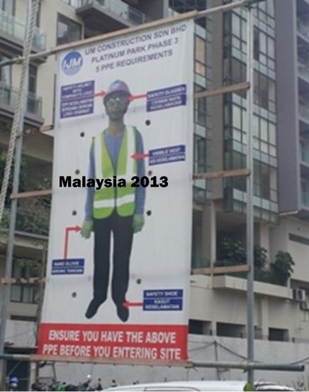 Kuala Lumpur Construction Site