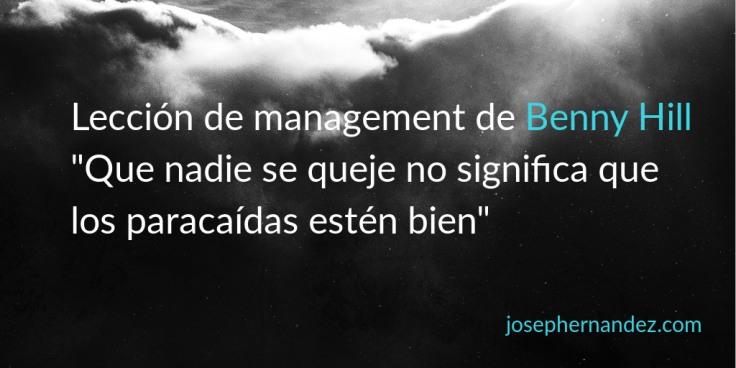 management benny hill
