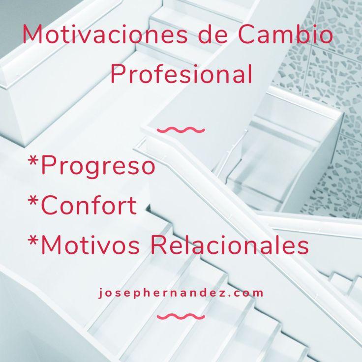 Motivos cambio trabajo