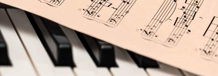 music sheet piano
