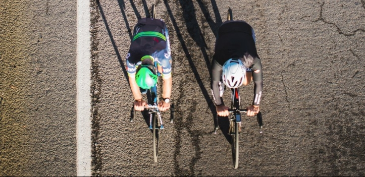 road-race-from-above