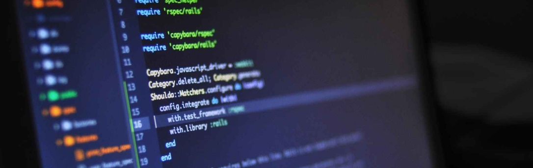 pantalla ordenador programación